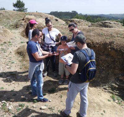 Descobrir as Linhas de Torres através do Geocaching