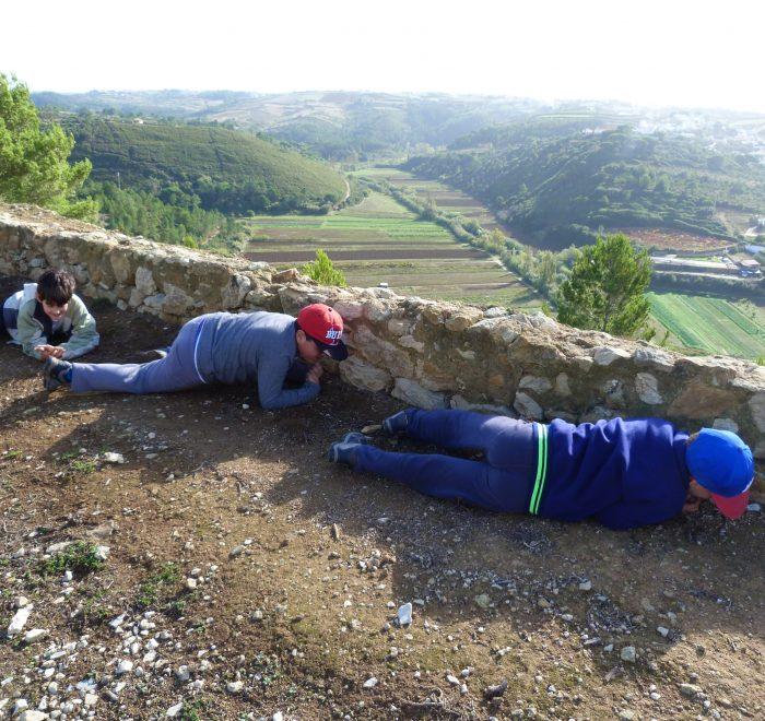 Há 200 anos no Forte do Zambujal